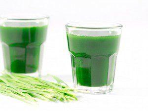 Le jus d'herbe de blé ; Le Détoxifiant Vert que Vous Devez Boire