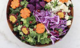 mangeant beaucoup de fruits, de légumes, de grains entiers